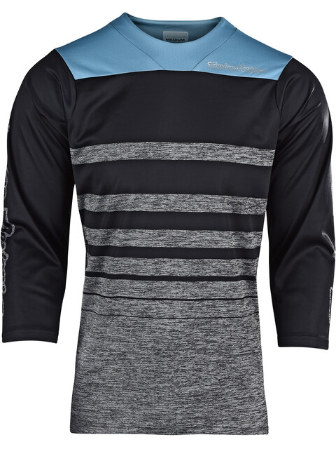 Troy Lee Designs Ruckus 3/4 Jersey Men streamline/heather gray/black